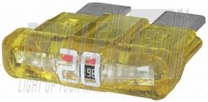 10stk ATOsikringer med LED indikator