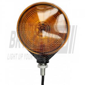Spansk lygte orange/orange LED