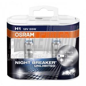 Osram NightBreaker®  Unlimited pærer