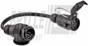 13pol til 7pol adapter med kabel