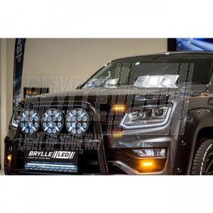 "Titan 20,5"" LED lightbar med positionslys FLOOD"